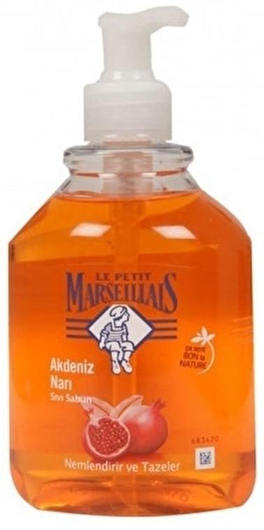 Le Petit Marseilials Le Petit Marseiliais Akdeniz Narı Sıvı Sabun 500 ml Renksiz